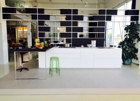 Cucina Hi-line 6 Dada Bianco Opaco