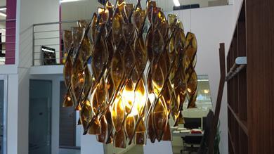 Lampada sospensione Axo Light in vetro