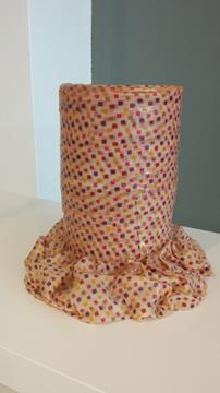 Vaso Meritalia mod. Low Vase quadretti