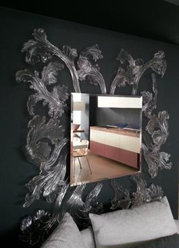 Specchio Sturm und Drung di Glas