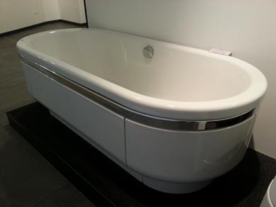 Vasca ovale centro stanza in acciao di KALDEWEI