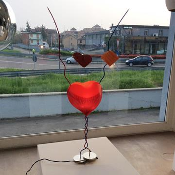 Lampada One From The Heart di Ingo Maurer