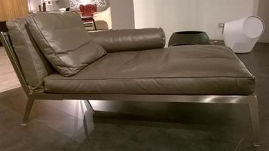 Chaise longue Happy by Flexform