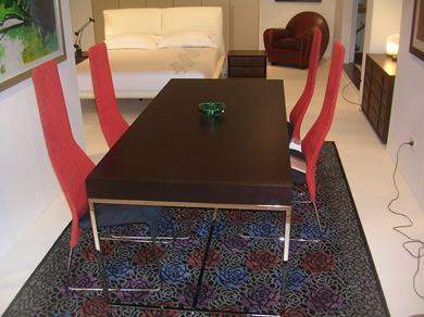 Tavolo Athos  B&B Italia con 4 sedie Lazy