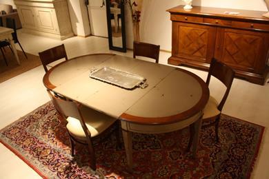 Consolle allungabile a tavolo