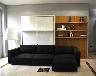 SWING Parete/Letto con divano