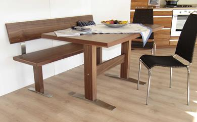 Tavolo e panca lineare