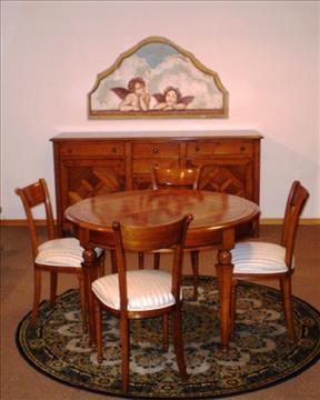 Sala con tavolo e sedie - STELLA DEL MOBILE