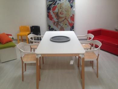 Tavolo e sedie Steelwood - Magis