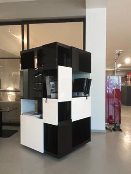 Libreria girevole Minotti Picabia