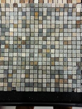 mosaico in ardesia