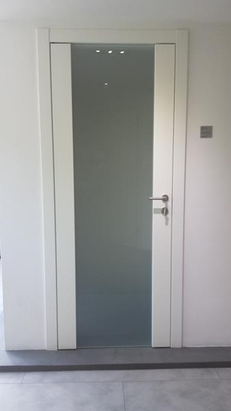 Porta Tre-P&Tre-Più mod. RADAR tuttovetro