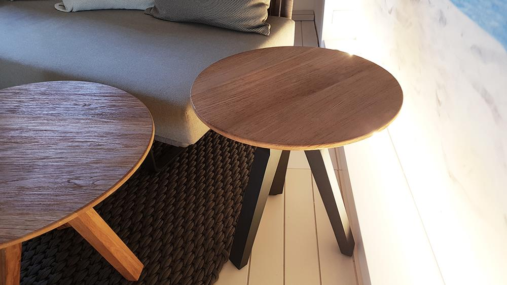 Tavolino da giardino in teak VIEQUES - KETTAL