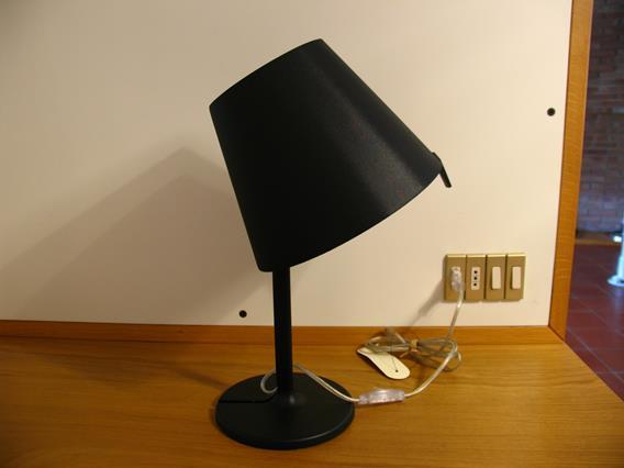Artemide - Lampada Melampo nera