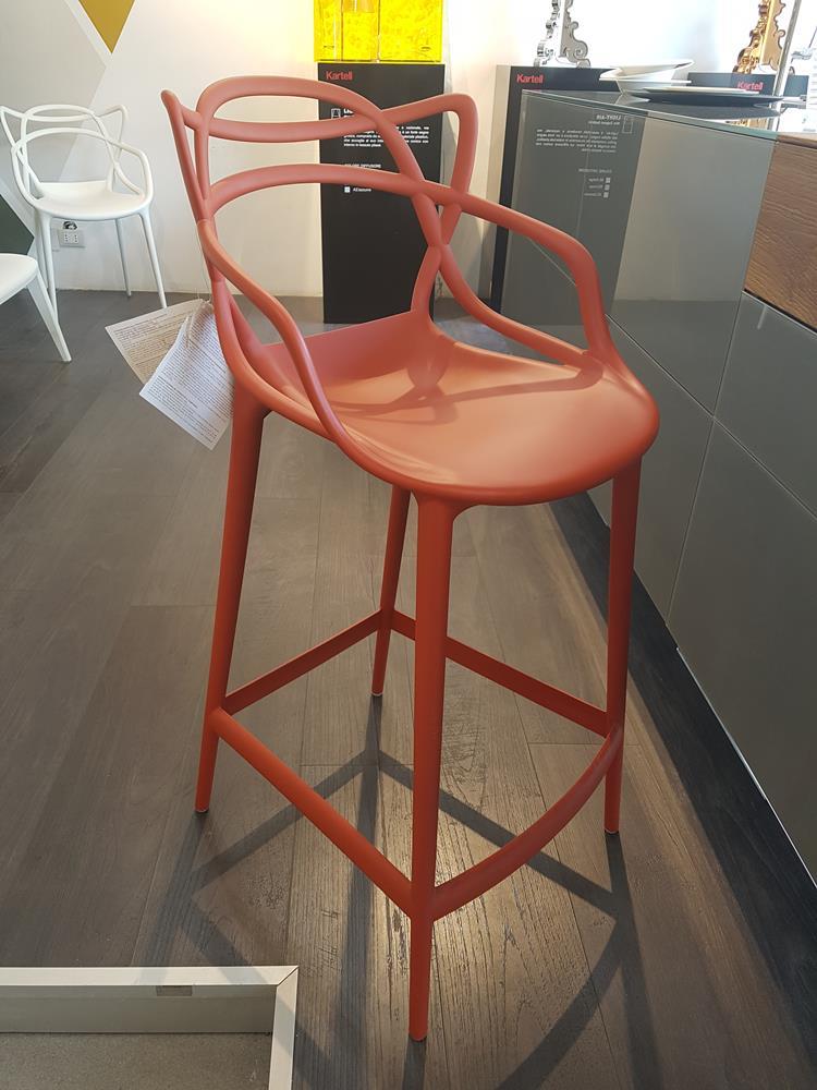KARTELL - Sgabelli Masters stool Arancio Ruggine