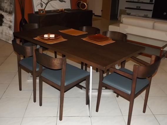 Tavolo con sedie FLAI modello ETHAN