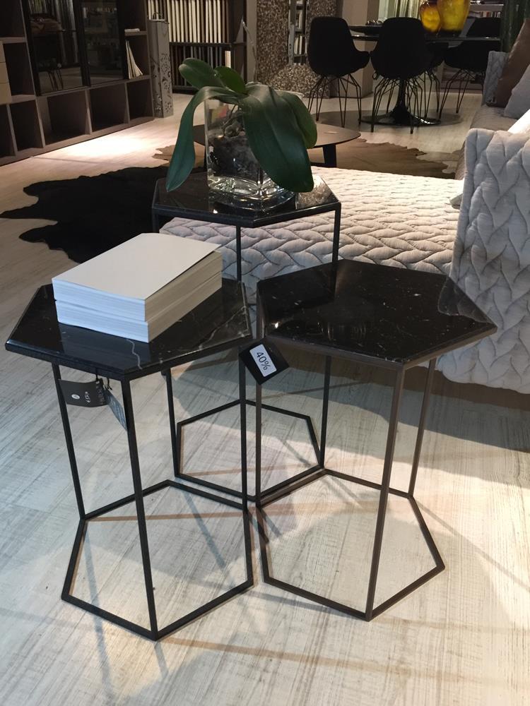 Tavolino esagonale piccolo
