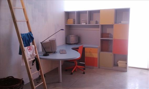 Libreria + scrivania De Rosso - sconto 50%