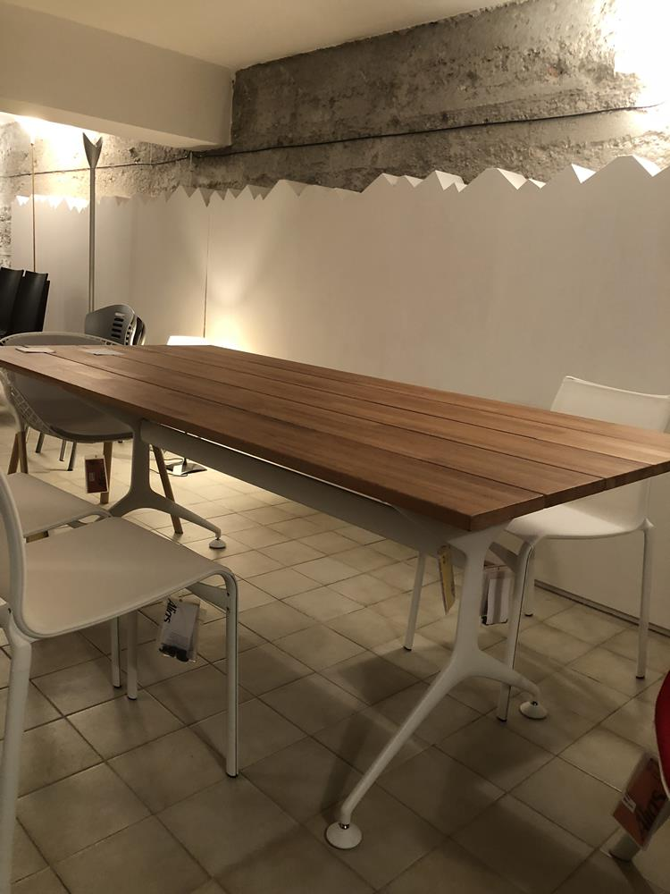 ALIAS OUTDOOR TAVOLO TEAK TABLE PER ESTERNO