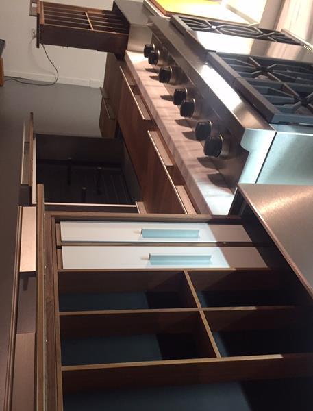 Cucina B3  Noce Massello 5