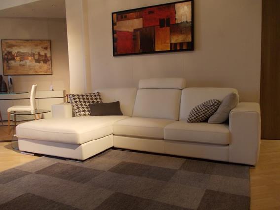 divano moderno in pelle mod.Manhattan